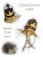 Mini top hat by Demonwithinme