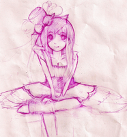 Sketch of a Lolita by kaycee99