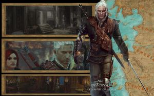 The Witcher 2 Desktop Wallpape by NicolePrince