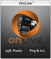 OnLive - Icon by Crussong