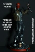 Jason Todd - The Red Hood custom action figure by SomethingGerman