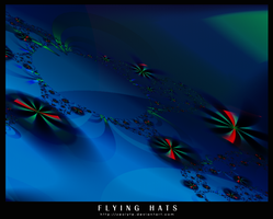 Flying Hats by zeolyte
