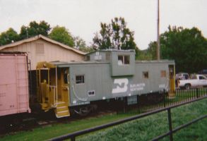 Burlington Northern Caboose by MSKM2001