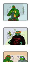 TMNT Raphael TMNTContests - Raphaels presents by Dragona15