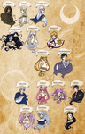 Moon Family Tree by SuzakuTrip