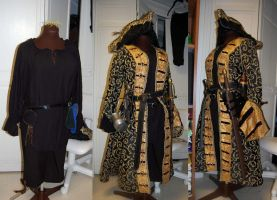 Pirate Coat - Nearly Complete by DragonLadyCels