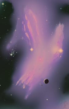Nebula Torrent by ClearVector
