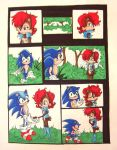 sonic the hedgehog comic by aloneintown