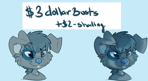 $3 Headshots!! by dallyru