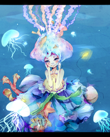 Jellyfish by evenica