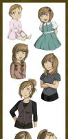 Aurore through the years by Pure-Ivory