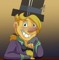 Mad Hatter rare smile by pink-ninja