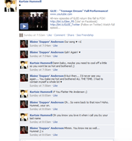 FB RP Klaine Teenage Dream by kelseykaboom