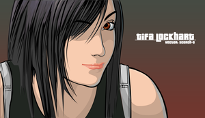 Tifa Lockhart Vector by Scorch-D