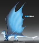 Whalf Dragon by Hagon