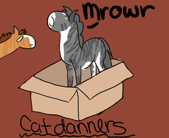 Catdanners by Alison-K