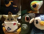Pokemon Eye Crochet Patterns and Tips by Ookamichan423