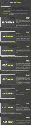 Logotype - SRForums by Dom-