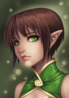 Emerald Green by Iksia