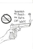 increase the peace the hate ca by davej6694