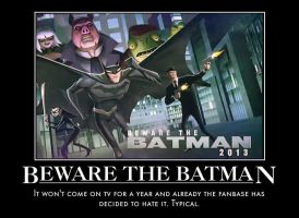 Beware the Batman motivational by jswv