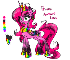 Princess Awesome Love (MY OC DO NOT STEAL) by Lemon-Heartss