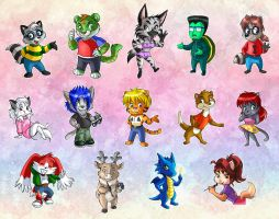furrymania color version by vanessasan