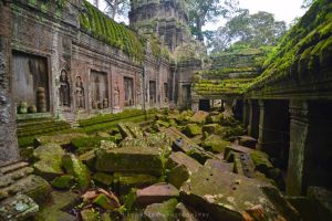 Angkorian Decay by drewhoshkiw