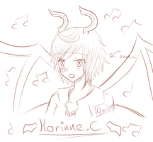 Sketch - Korinne by Fuka-chi