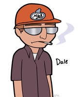 Dale Gribble by Comickit