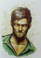 daryl dixon by grizlyjerr