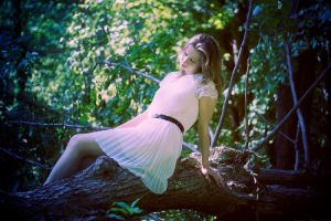The Cottingley Fairy by Obsessed-by