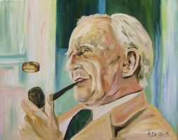 J.R.R Tolkien by face777