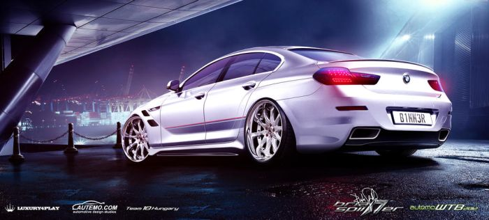 BMW 6-Series Gran Coupe Rear (2013) WTB2012 by brianspilner