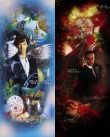 'Sherlock and Moriarty' Project by B0N-B0NA