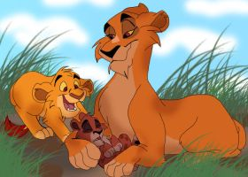 Best Big Brother Ever by Zee-Stitch