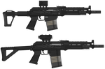 ST3P rifles (PMG CODE) by BeadedGreenLizard