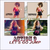 Action9 L e t s  go  j u m p by 11GabyCool11