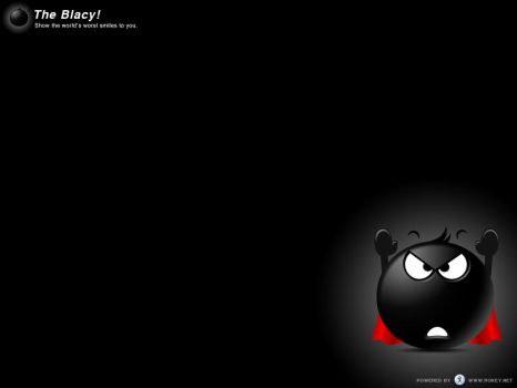 The Blacy Wallpaper 3 by Rokey