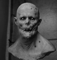 Zombie bust by BOULARIS