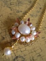 Pearls, Leaves, and Filigree by ElegantlyEccentric