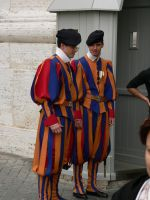 Swiss Guards At Work by openset
