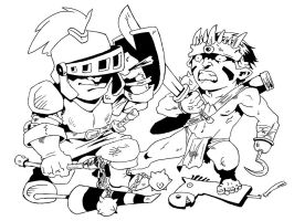 BW3 Small Warriors by Wolcik