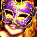 the girl behind the mask by Emmybomber
