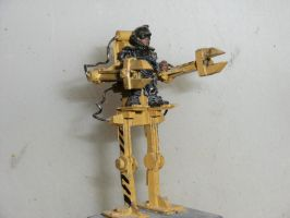 Powerloader miniature by annoyinglizardvoice
