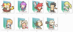 Elsword Folder Icons by Ginokami6