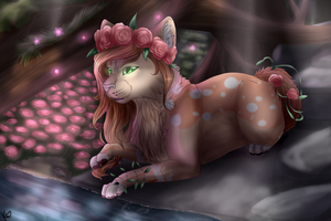 AT .:Chocoberry:. by Kamillenherz