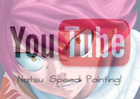 Natsu Speed painting by MarxeDP
