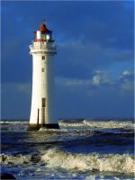 New Brighton Lighthouse by amyelnash