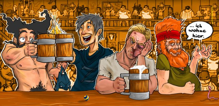 Pen And Paper Pub by FlipKasper